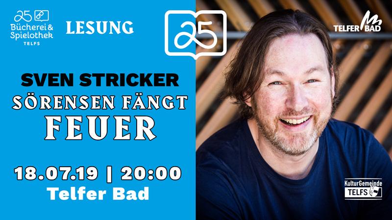 """Plakat für das Event """"Sörensen fängt Feuer"""""""