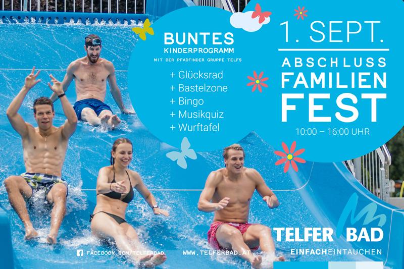 """Plakat für das Event """"Familienfest"""""""