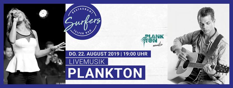 """Plakat für das Event """"Plankton"""""""