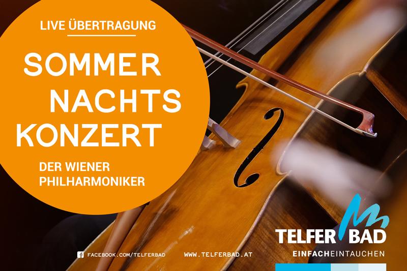 """Plakat für das Event """"ORF-Sommernachtskonzert"""""""