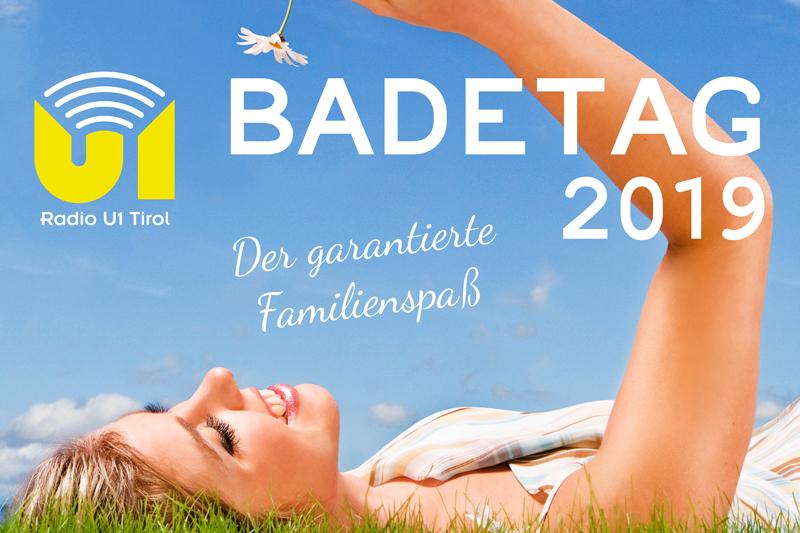 """Plakat für das Event """"Radio U1 Badetag"""""""
