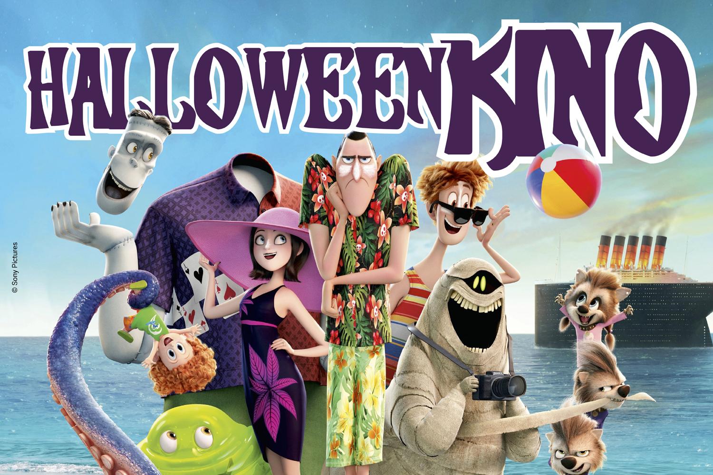 """Plakat für das Event """"Halloween-Kino"""""""