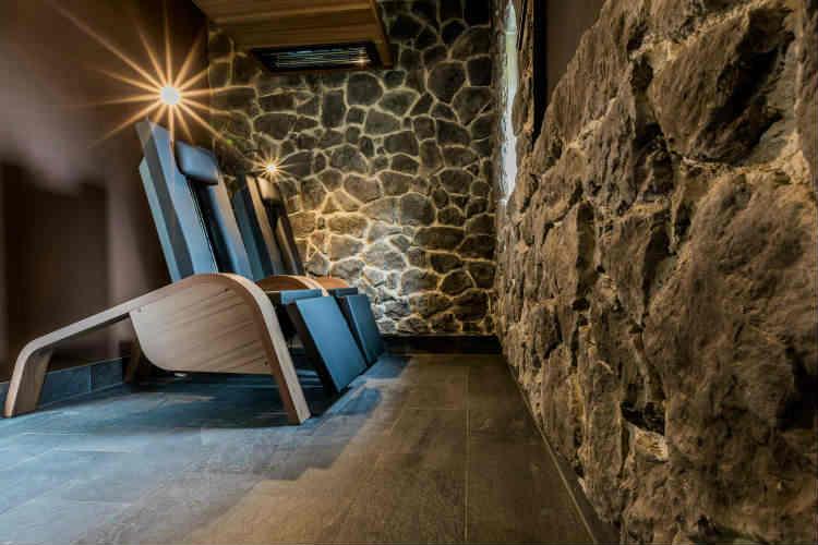 Entspannung und Ruhe im Saunabereich