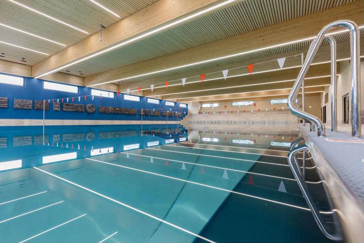 Schwimmbereich Innen