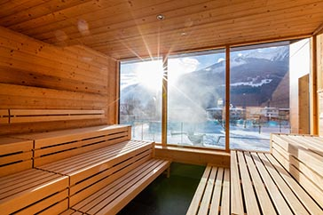 Kräuter Sauna Telferbad