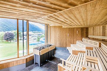 Panorama-Sauna Telferbad
