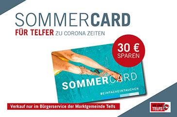Telferbad SommerCard